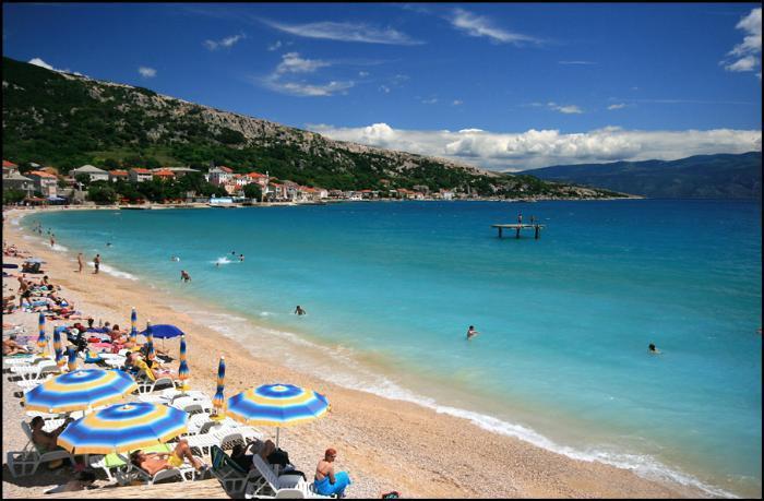 Baska spiaggia
